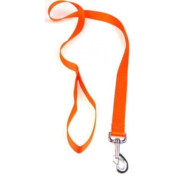 Laisse NYLON  FLUO Orange