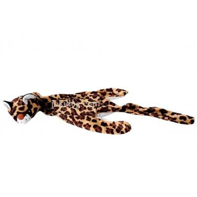 Peluche guépard écrasé