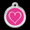 Médailles Coeur tribal RED-DINGO