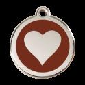 Médailles Coeur RED-DINGO