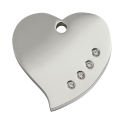 Médailles Coeur Diamante RED-DINGO