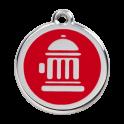 Médailles borne incendie RED-DINGO