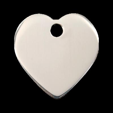 Médailles Coeur acier inox RED-DINGO