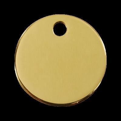 Médailles Ronde laiton RED-DINGO