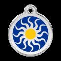 Médailles Tribal Sun RED-DINGO