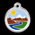 Médailles Montagnes RED-DINGO