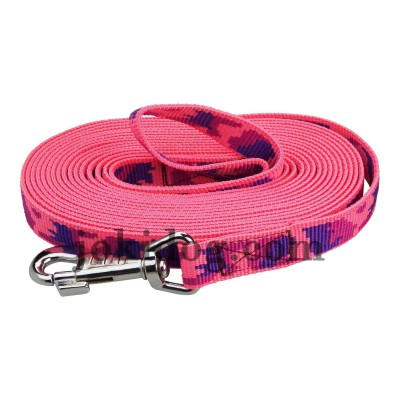 longe nylon camo rose 20 mm