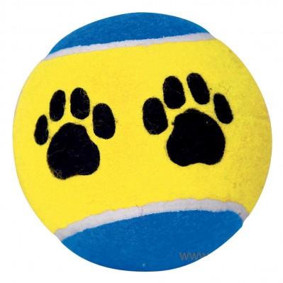 balle tennis motif pattes