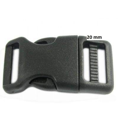 Boucle acétal 20 mm