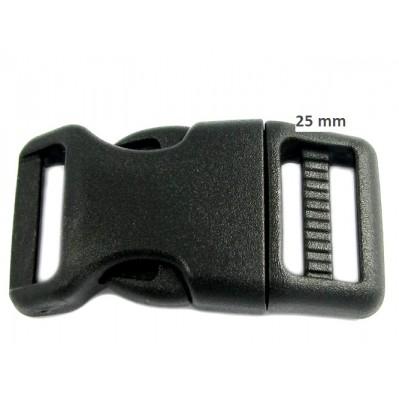 Boucle plastique acétal 25 mm