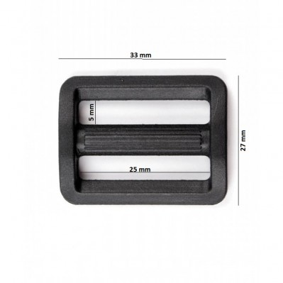Passants plastique 2M-25 mm