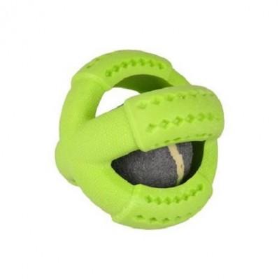 balle Dina tenis TPR parfum menthe vert 11 cm
