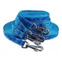longe nylon camo bleu 20 mm