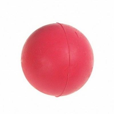 balle en caoutchouc 5 cm rouge