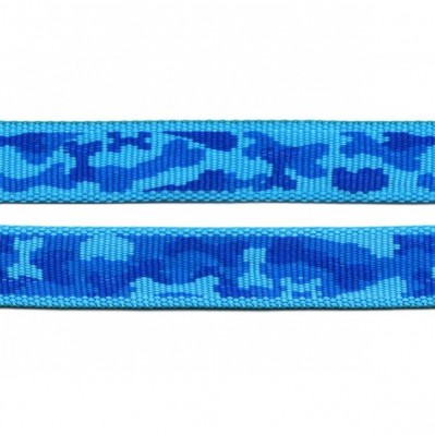 Harnais nylon Camo bleu