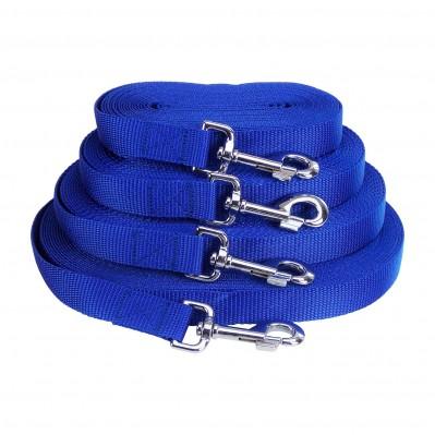 longe nylon classic bleu 25 mm