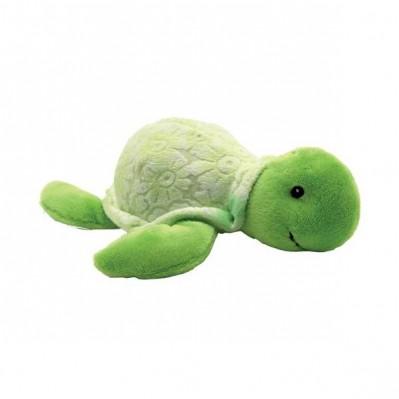 peluche tortue verte sonore