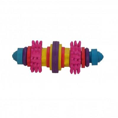 jouet caoutchouc dur 15 cm
