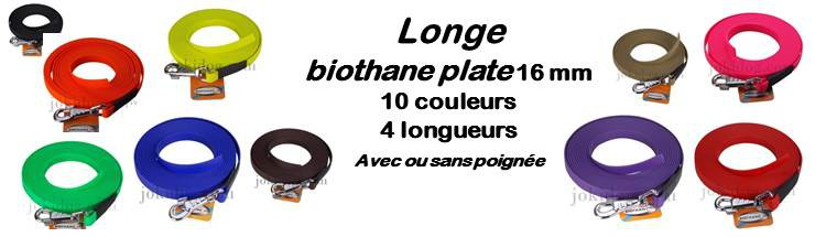 longe biothane 16 mm